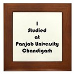Panjab University Framed Tile