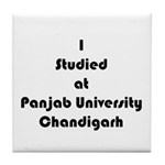 Panjab University Tile Coaster