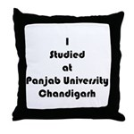 Panjab University Throw Pillow