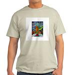 Marcy Hall's Bird Goddess Light T-Shirt