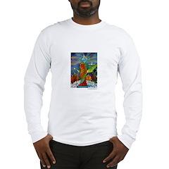 Marcy Hall's Bird Goddess Long Sleeve T-Shirt