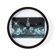 Toronto City Hall - Xmas Blue Wall Clock