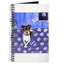 RAT TERRIER folk art design Journal