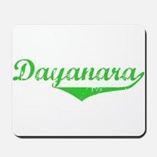 Dayanara Vintage (Green) Mousepad
