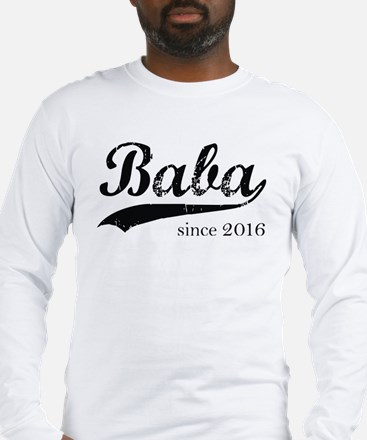 Funny Baba Long Sleeve T-Shirt