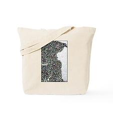 Pointillism Tote Bag