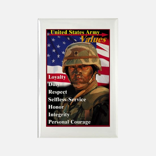 Army Values Magnets