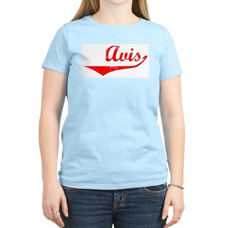 Avis Vintage (Red) Women's Light T-Shirt