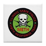 ILL SP Meth Response Tile Coaster