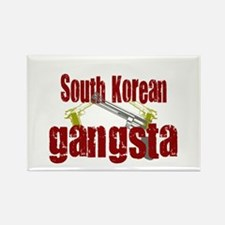 South Korean gangsta Rectangle Magnet