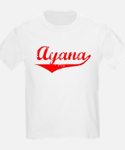 Ayana Vintage (Red) T-Shirt