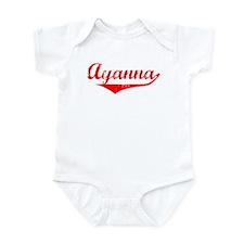 Ayanna Vintage (Red) Infant Bodysuit