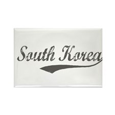 Korea vacation Rectangle Magnet