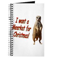 Christmas Meerkat Journal
