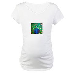 Marcy Hall's Peacock Shirt