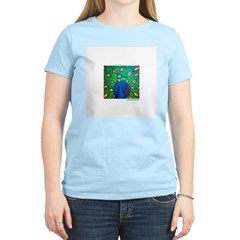 Marcy Hall's Peacock T-Shirt