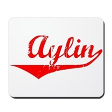 Aylin Vintage (Red) Mousepad