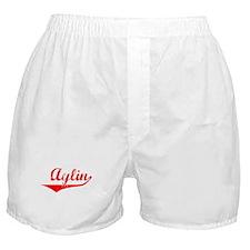 Aylin Vintage (Red) Boxer Shorts