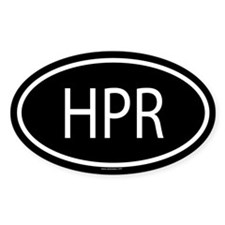 HPR Oval Decal