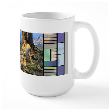 """Large """"Hilltop"""" Mug by Parrish"""