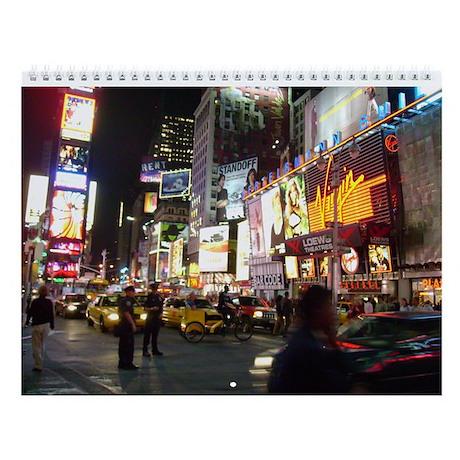 New York City Wall Calendar