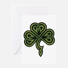 Irish Shamrock Greeting Card