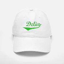 Delia Vintage (Green) Baseball Baseball Cap