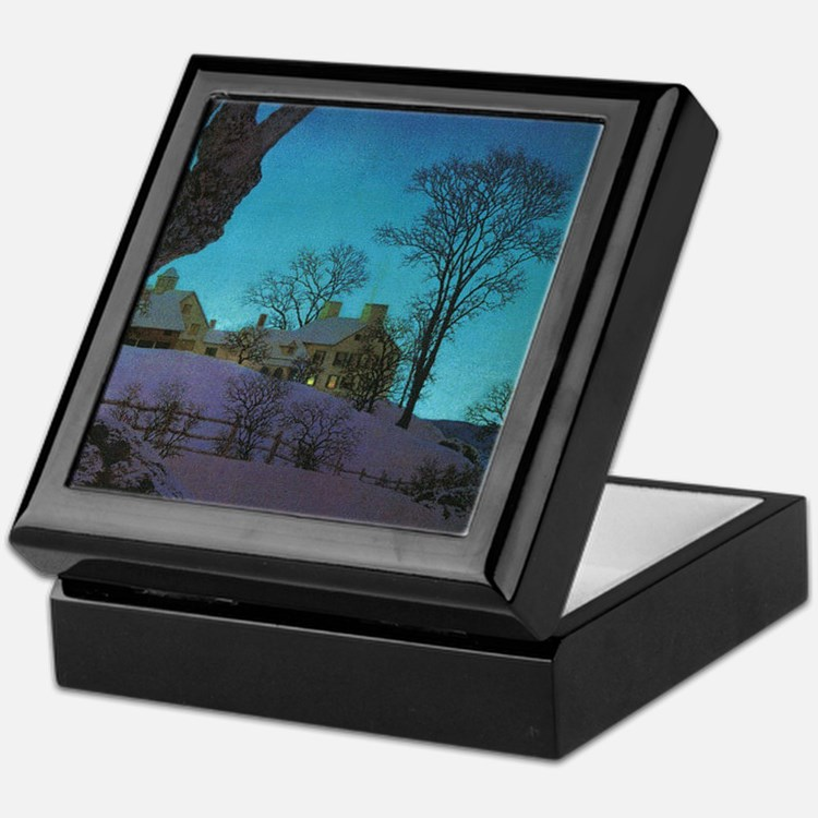 Christmas Morn Keepsake Box