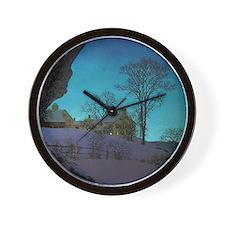 Christmas Morn Wall Clock
