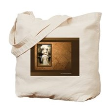 """""""Young Mother Feeding Her Baby"""" - Tote Bag"""