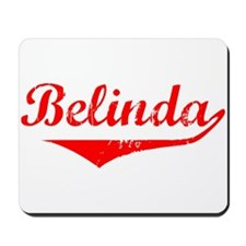 Belinda Vintage (Red) Mousepad