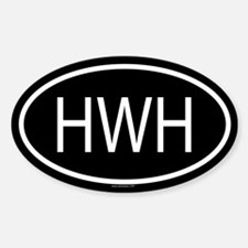 HWH Oval Decal