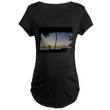 Tiki Torch at Sunset T-Shirt
