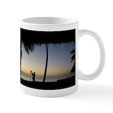 Tiki Torch at Sunset Mug