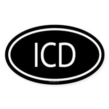 ICD Oval Decal