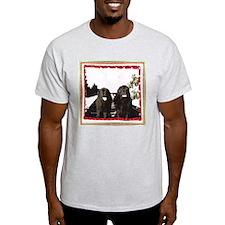 Holiday Newfies Ma & Pa T-Shirt