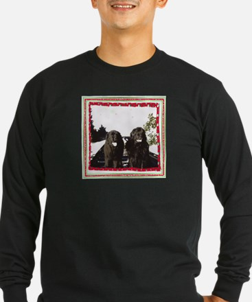 Holiday Newfies Ma & Pa T