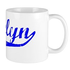 Gracelyn Vintage (Blue) Mug