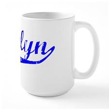Gracelyn Vintage (Blue) Mug