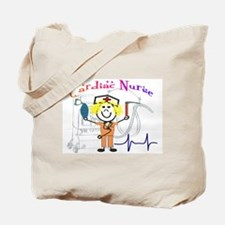 Unique Cardiac nurse Tote Bag