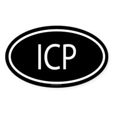 ICP Oval Decal