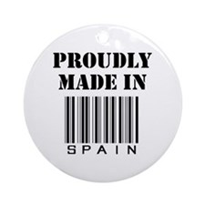 proudly made in Spain Ornament (Round)