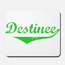 Destinee Vintage (Green) Mousepad