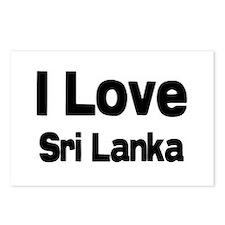 I love sri lanka Postcards (Package of 8)
