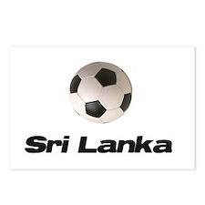 Sri Lanka soccer Postcards (Package of 8)