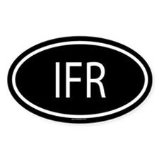 IFR Oval Decal