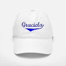 Graciela Vintage (Blue) Baseball Baseball Cap