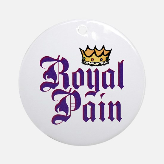 Royal Pain Ornament (Round)