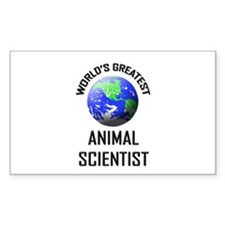 World's Greatest ANIMAL SCIENTIST Decal