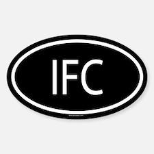 IFC Oval Decal